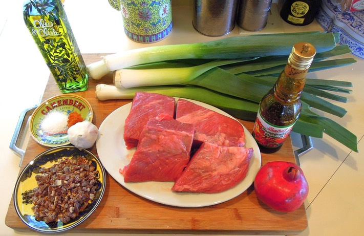 1 Ingredients Brisket With Leeks