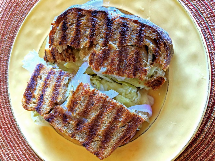5 New York Style Deli Griddled Sandwich
