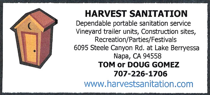 Harvest Sanitation