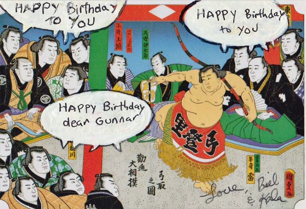 Japanese birthday Card – Japanese Birthday Greetings